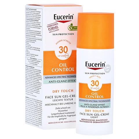EUCERIN Sun Gel-Creme Oil Contr.Anti-Gl.Eff.LSF 30 50 Milliliter
