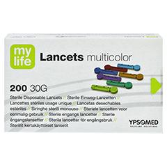 MYLIFE Lancets multicolor 200 Stück - Vorderseite