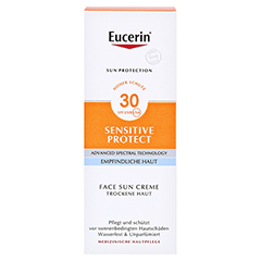 EUCERIN Sun Creme LSF 30 + gratis Eucerin Sun Oil Control Body LSF50+ 50 Milliliter - Vorderseite