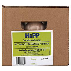 HIPP Sondennahrung Milch Banane & Pfirsich KS.Fl. 12x500 Milliliter - Vorderseite