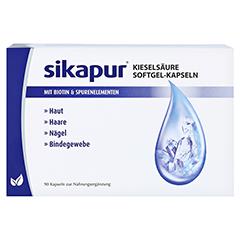 sikapur Kieselsäure Softgel-Kapseln 90 Stück - Vorderseite