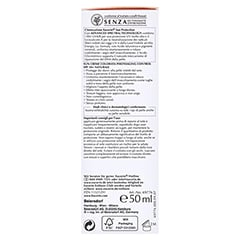 EUCERIN Sun CC Creme getönt hell LSF 50+ + gratis Eucerin Sun Oil Control 5 ml 50 Milliliter - Rechte Seite