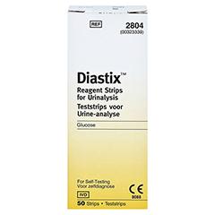 DIASTIX Teststreifen 50 Stück - Rückseite