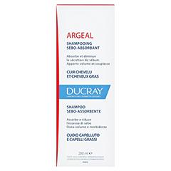 DUCRAY ARGEAL Shampoo gegen fettiges Haar 200 Milliliter - Rückseite
