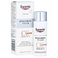 EUCERIN Anti-Age HYALURON-FILLER CC Cream mittel 50 Milliliter