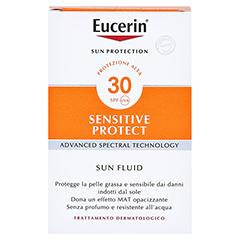 EUCERIN Sun Fluid LSF 30 50 Milliliter - Rückseite