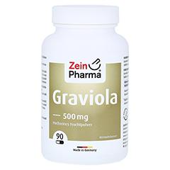 GRAVIOLA KAPSELN 500 mg/Kap.reines Blattpulv.Peru 90 Stück