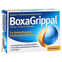 BOXAGRIPPAL 200 mg/30 mg Filmtabletten 10 Stück