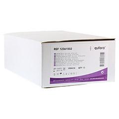 QUFORA Beinbeutel 750 ml 50 cm mit Q-Flow steril 10 Stück