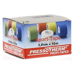 PRESSOTHERM Sport-Tape 3,8 cmx10 m schwarz 1 Stück