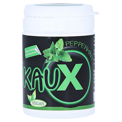 KAUX Zahnpflegekaugummi Peppermint mit Xylitol 40 Stück
