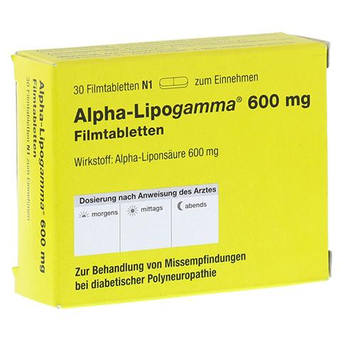 ALPHA LIPOGAMMA 600 mg Filmtabletten 30 Stück N1