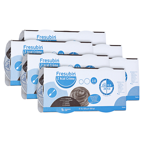 FRESUBIN 2 kcal Creme Schokolade im Becher 24x125 Gramm