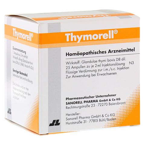 THYMORELL Injektionslösung in Ampullen 25x2 Milliliter N3