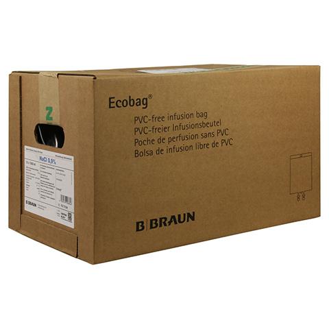NATRIUMCHLORID 0,9% Braun Ecobag Infusionslsg. 10x1000 Milliliter N2