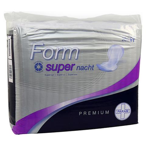 PARAM Form PREMIUM Vorlagen anatom.super Nacht 20 Stück