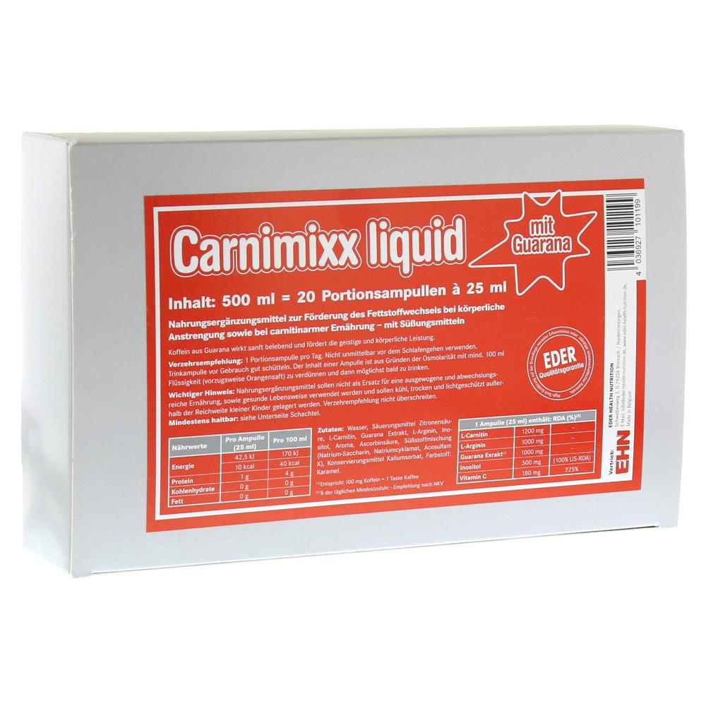 CARNIMIXX Liquid Ampullen 20 Stück