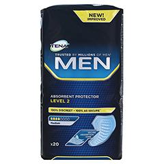 TENA MEN Level 2 Einlagen 6x20 Stück - Vorderseite