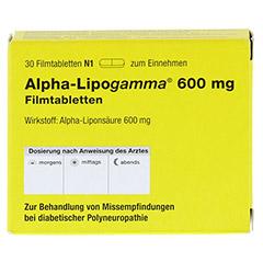 ALPHA LIPOGAMMA 600 mg Filmtabletten 30 Stück N1 - Vorderseite