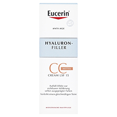 EUCERIN Anti-Age HYALURON-FILLER CC Cream mittel 50 Milliliter - Vorderseite