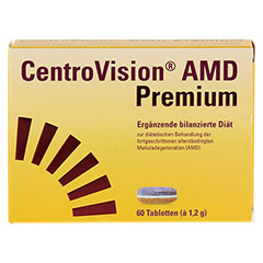 CENTROVISION AMD Premium Tabletten 60 Stück - Vorderseite