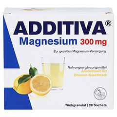 ADDITIVA Magnesium 300 mg N Pulver 20 Stück - Vorderseite