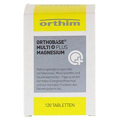 ORTHOBASE Multi plus Magnesium Tabletten 120 Stück - Vorderseite