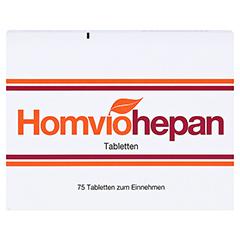 HOMVIOHEPAN Tabletten 75 Stück N1 - Vorderseite