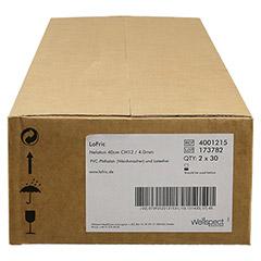 LOFRIC Katheter Nelaton Ch 12 40 cm 60 Stück - Vorderseite