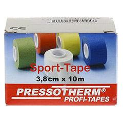 PRESSOTHERM Sport-Tape 3,8 cmx10 m schwarz 1 Stück - Vorderseite