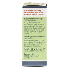 APOPET R Relax Blüteness.n.Dr.Bach Glob.vet. 12 Gramm - Linke Seite