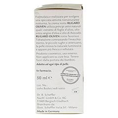 RUGARD Oliven Nachtcreme 50 Milliliter - Linke Seite