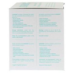 LIGASANO weiß Schlitzkompr.1x5x5 cm unsteril 20 Stück - Linke Seite