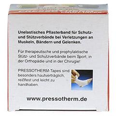 PRESSOTHERM Sport-Tape 3,8 cmx10 m schwarz 1 Stück - Linke Seite