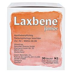 Laxbene junior 4g 30x4 Gramm N2 - Rechte Seite