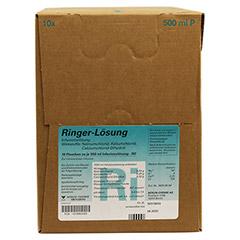 RINGER LÖSUNG Plastik 10x500 Milliliter N2 - Rechte Seite