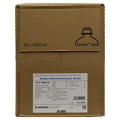 RINGER LÖSUNG B.Braun Ecoflac Plus 10x1000 Milliliter N2 - Rechte Seite