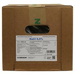NATRIUMCHLORID 0,9% Braun Ecobag Infusionslsg. 10x1000 Milliliter N2 - Rechte Seite