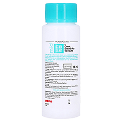 CB12 mild Mund Spüllösung 250 Milliliter - Rückseite