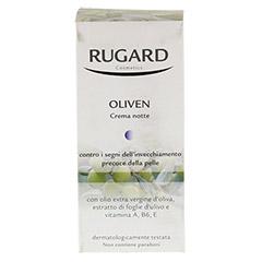 RUGARD Oliven Nachtcreme 50 Milliliter - Rückseite