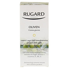 RUGARD Oliven Tagescreme 50 Milliliter - Rückseite