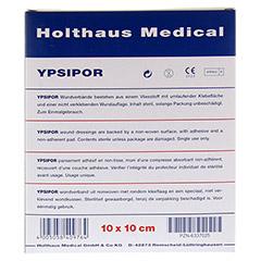 Wundverband Ypsipor Steril 10x10 cm 10 Stück - Rückseite