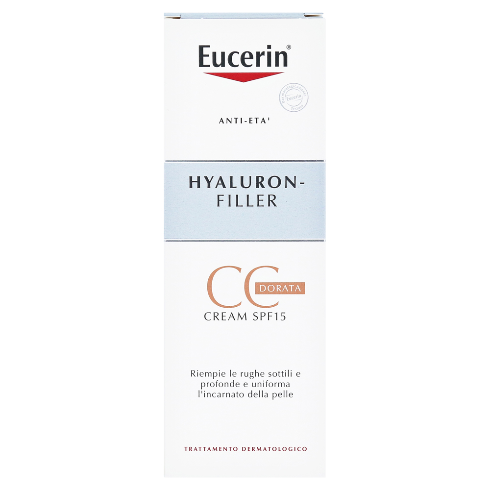 eucerin anti age hyaluron filler cc cream mittel 50. Black Bedroom Furniture Sets. Home Design Ideas