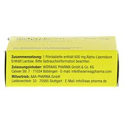 ALPHA LIPOGAMMA 600 mg Filmtabletten 30 Stück N1 - Oberseite