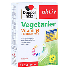 Doppelherz aktiv Vegetarier Vitamine + Mineralstoffe 30 Stück