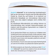 ARGININ-INTERCELL Kapseln 160 Stück - Rechte Seite