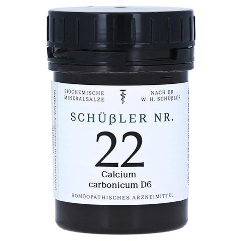 SCHÜSSLER Nr.22 Calcium carbonicum D 6 Tabletten 400 Stück