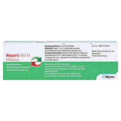 REPARIL-Gel N Madaus 100 Gramm N2 - Rückseite