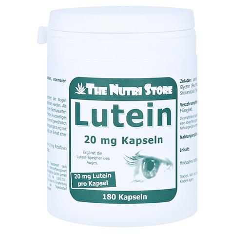 LUTEIN 20 mg Kapseln 180 Stück