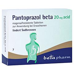 Pantoprazol beta 20mg acid 7 Stück